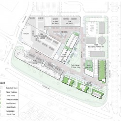 Plan for the new Belconnen Markets Precinct