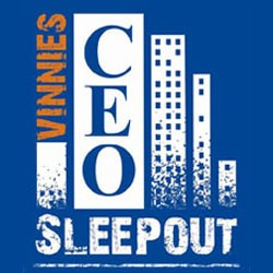 Vinnie's CEO Sleepout 2012